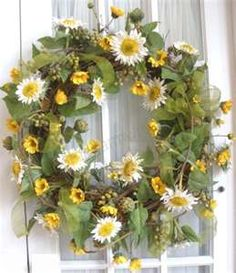 Summer Silk Wreaths For Front Door | Southern Charm Wreaths