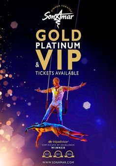 Gold Platinum & VIP tickets available at Son Amar