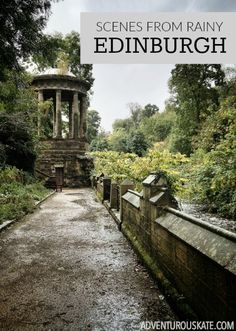 When my friend Kash invited me to walk around the Water of Leith, one of his favorite places in Edinburgh, I didn't bring an umbrella. WHAT A MISTAKE! But sometimes, rainy days make for the loveliest photos.