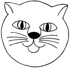Craft Cat on Kids-n-Fun. At Kids-n-Fun you will always find the nicest coloring pages first! Coloring For Kids, Coloring Books, Free Online Coloring, Ideas Habitaciones, Crown For Kids, Nursery Activities, Animal Masks, Laurel Burch, Kirigami