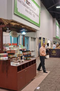 The Out of Africa Booth (3200) at the Natural Products Expo West show - 2015.