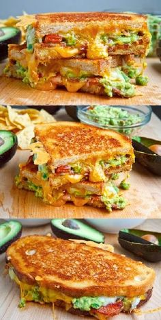 Bacon Guacamole Grilled Cheese Sandwich - Made it last week - incredibly delicious.