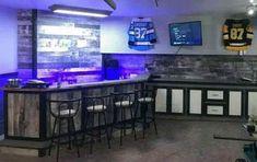 Wie man eine DIY Garage Bar baut - Diy Balkon Dekor ideen and hacks Man Cave Garage, Man Cave Basement, Basement Bathroom, Garage Door Makeover, Diy Garage, Garage Storage, Garage Ideas, Bar In Garage, Garage House
