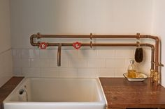 copper heating pipes architecture - Google zoeken