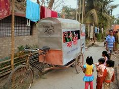mobile puppet theater!!