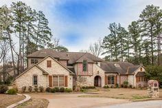 Choice #1 lots of space, 3 beds, 3.5 baths, castle like, costs: $679,000, address: 100 Fountainebleau,Longview,TX  75605