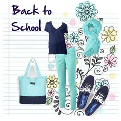 """""""Back to School outfit"""" by kynthia2007 on Polyvore"""