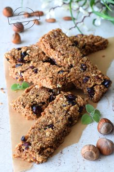 Batony musli – Smaki na talerzu Healthy Sweets, Cereal, Cookies, Chocolate, Breakfast, Desserts, Food, Crack Crackers, Morning Coffee