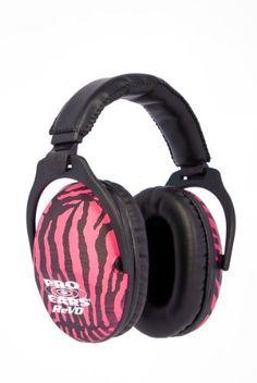 Pro Ears ReVO Passive Ear Muffs (Pink Zebra) by Pro Ears, http://www.amazon.com/dp/B00649B67M/ref=cm_sw_r_pi_dp_zcAjrb0RCZZZW