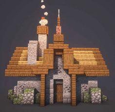 Minecraft Building Guide, Minecraft Farm, Minecraft Images, Minecraft Drawings, Cute Minecraft Houses, Minecraft Plans, Amazing Minecraft, Minecraft Construction, Minecraft Tutorial