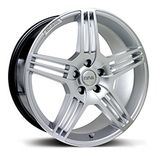"RIVA MAG in Hyper Silver Specification: Size: 18"" x Width:8.5J Fitment: 5 stud only  PRICE, SET OF 4 £432 Alloy Wheel, Wheels, Free Delivery, Silver, Kit, Autos, Money"