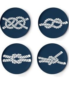 love these nautical themed coasters