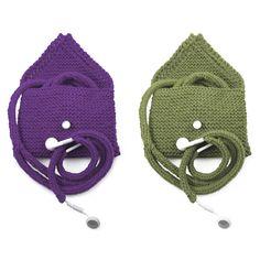 Earbuds Cozy Knitting Kit $25