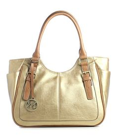 Take a look at this Bronze Jane Double Shoulder Bag by emilie m. on #zulily today!
