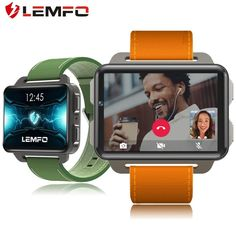 LEMFO New Arrival LEM4 Pro Smart Watch Android 5.1 Supper Big Screen 1200 Mah Lithium Battery 1GB 16GB Wifi Take Video