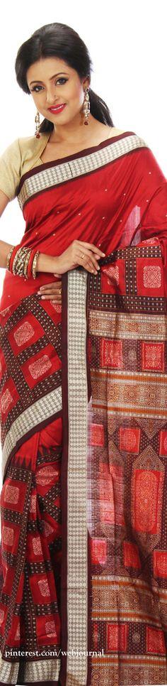 Bomkai silk - Handwoven sarees from Indian silk house.