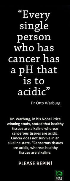 Cancer & Acidity   Flickr - Photo Sharing!