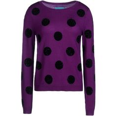 """Alice+Olivia"" Long Sleeve Pullover, in Perfect Purple !! ~:<3"