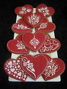 Valentines cookies | by Carrie's Creative Cakes