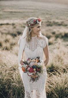 23 vackra och bohemiska bröllopsdetaljer