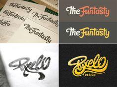 10 Exceptional Handwritten Logo Designs