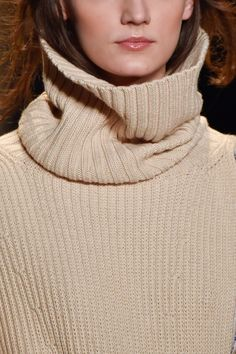 BCBG Max Azria at New York Fall 2015 (Details) Beige Style, Max Azria, Fall 2015, New York Fashion, Turtle Neck, Detail, Sweaters, Color, Colour