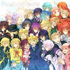 Pandora Hearts !! :3 Super Manga plein de mystère ♥ Et en plus le graphisme est super !!   Personnages : oz, Alice, breack,ada,vicent,le père de oz et Ada,oscar,lacie,sharon,rufus,le clan Baskerville,la volonté de l'aide, Elliot, Leo,le chat du chechatyeur, Gilbert, Jack.