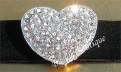 Rhinestone-Puffy-Heart-on-Velvet