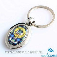 Watson Clan Crest Metal Keyring