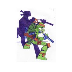 Michelangelo - TMNT - Vlad Legostayev