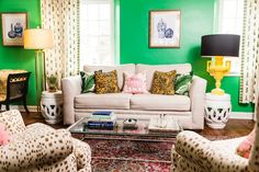 Style At Home: Meredith Miller's Bright Abode | theglitterguide.com