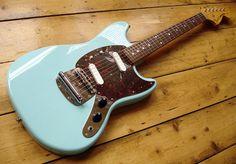 Fender Mustang 69 Sonic Blue by Duncan Macphee, via Flickr