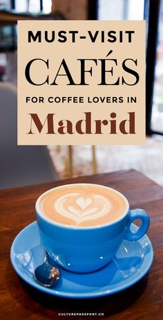 7 Best Specialty Coffee Shops in Madrid Cafés - Must-Visit Cafes for Coffee Lovers in Madrid - Madrid Restaurants, Madrid Tapas, Madrid Food, Ibiza, Best Coffee Shop, Coffee Shops, Madrid Travel, Cool Cafe, Spain And Portugal