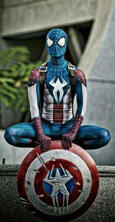 Captain Spider-America   Spider-Man