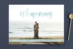 It's Happening by Anchored Paper Co. at minted.com