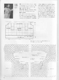 Crochet giacchina schema