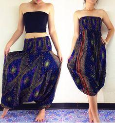 harem pant and jumpsuit
