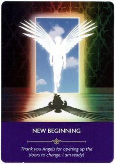 New Beginning - Angel Prayers Oracle