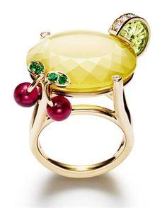 Rosamaria G Frangini   High Yellow Jewellery   Cocktail Ring