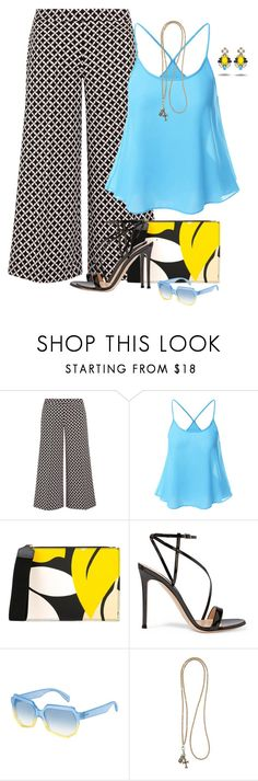 """""""Untitled #6659"""" by lisa-holt ❤ liked on Polyvore featuring MICHAEL Michael Kors, Marni, Gianvito Rossi, Marc by Marc Jacobs and Catherine Michiels"""