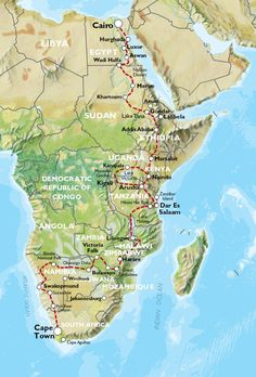 CAPE TOWN to CAIRO (17 weeks) Nile Trans