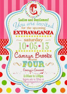 Circus Birthday Party idea | Birthday Party Ideas | Pinterest ...