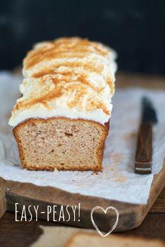 Spekulatius-Kuchen mit Zimt-Frosting