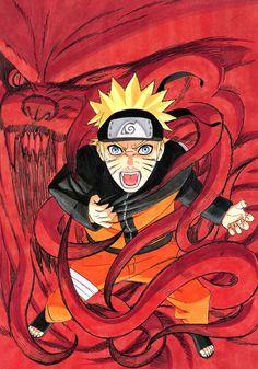 Naruto and Kurama, naruto, narutoshippuden, ninja, nove code Anime Naruto, Naruto Minato, Madara Uchiha, Naruto Gaiden, Shikamaru, Naruto Art, Naruto Pics, Wallpaper Naruto Shippuden, Naruto Wallpaper