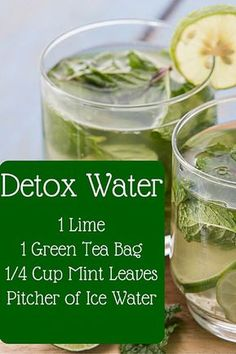 How to make detox smoothies. Do detox smoothies help lose weight? Learn which ingredients help you detox and lose weight without starving yourself. Weight Loss Meals, Green Tea Detox, Detox Tea, Green Teas, Lose Weight Quick, Diet Plans To Lose Weight, Losing Weight, Reduce Weight, Water Recipes