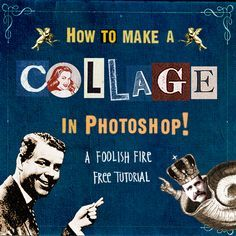 A Foolish Fire Tutorial :: How to Make a Collage in Photoshop....this is something I do a lot!