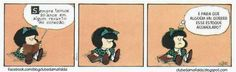 Clube da Mafalda:  Tirinha 750