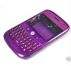 Purple Blackberry Phone