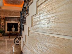 Dekostyl - Studio Dekoracji Wnętrz - TRAWERTYN Tynk dekoracyjny - zestaw 7m2