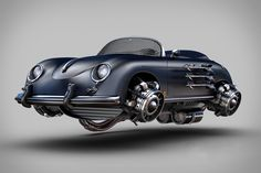 Rarely does nostalgia and futurism blend as well as they do in these Retro Futuristic Vehicles concepts from Brazilian designer Jomar Machado. Mixing familiar silhouettes - motorcycles, Mustangs, and Porsches among them - with parts both vintage and currently impossible,...